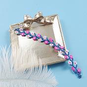 Sweet Seed Beads Flower Bracelet