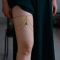 Golden Leg Chain for Girls